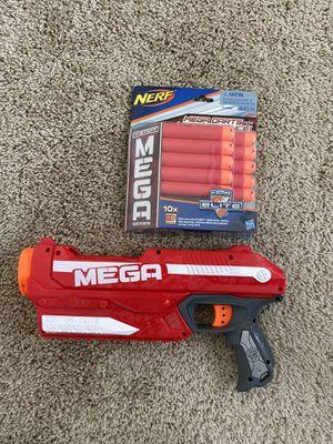 Nerf Mega Series Gun + 10 darts for Sale in Beaverton, OR