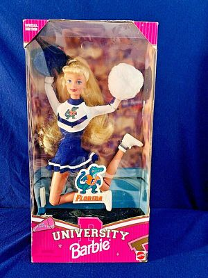 1997 University of Florida Barbie Cheerleader Special Edition # 17700 Mattel for Sale in Oceanport, NJ
