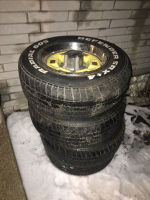 Chevy Tires and rims for Sale in Saginaw, MI