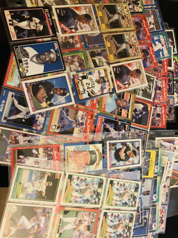 80's All Stars Various Topps Donruss and Fleer Baseball Cards