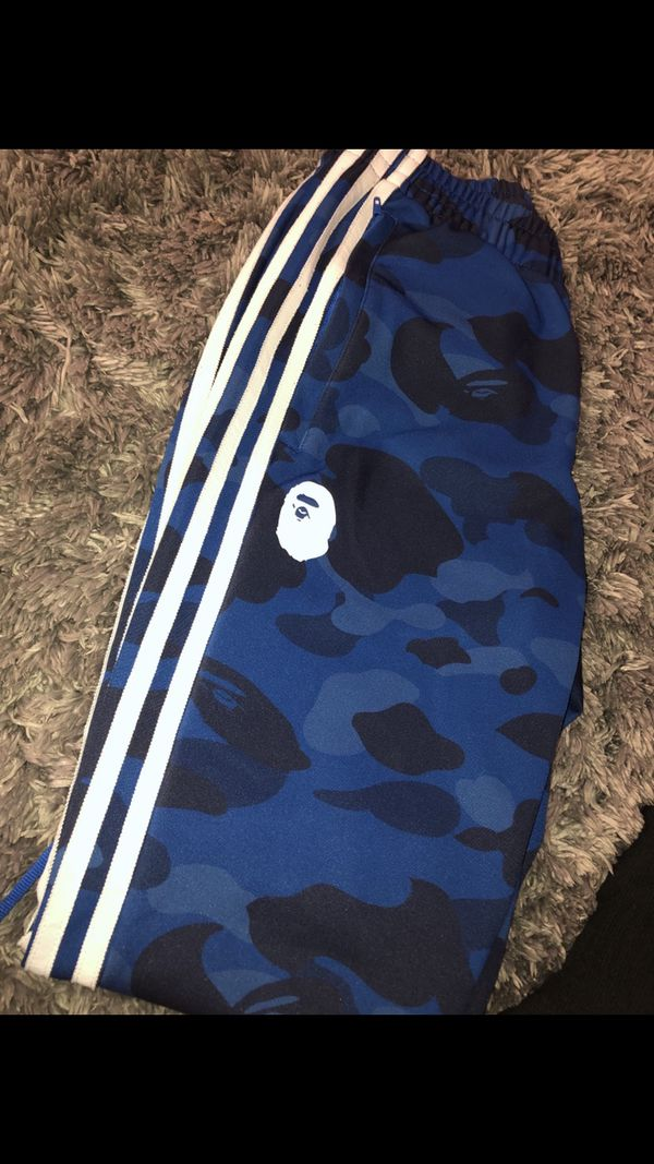Adidas X Bape track pants Size Small