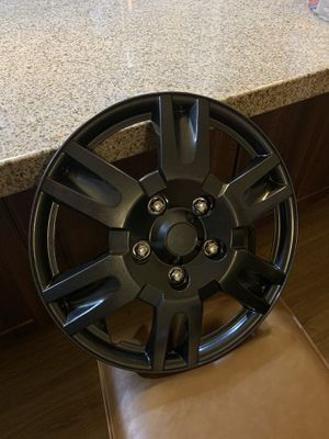 "Autocraft wheel covers (( only have 3 )) THEY ARE NEW 17"" for Sale in Scottsdale, AZ"