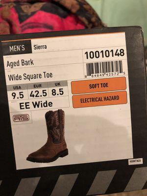 Ariat work boots for Sale in San Jose, CA