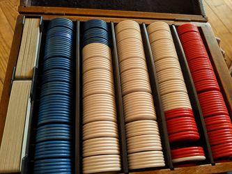 Cliff Kindschi Poker Set for Sale in San Angelo,  TX