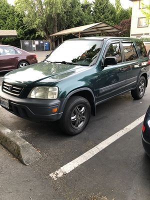 2001 Honda crv all wheel drive clean title automatic need minor work for Sale in Seattle, WA