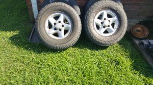 1999 Dodge Ram 1500 rims and tires for Sale in Coldwater, MS