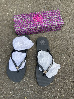 Tory Burch flip flops (new) for Sale in North Haven, CT