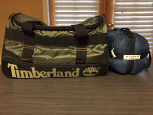 Men's duffel bag and sleeping bag for Sale in Las Vegas, NV