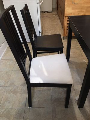 Kitchen/dinner table set with chairs (optional) for Sale in Mount Vernon, NY