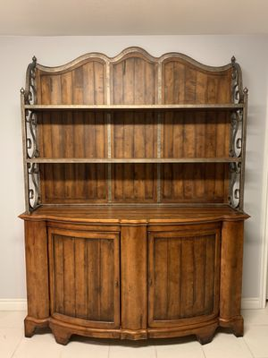 Luxury Century Furniture Beautiful Wood Hutch, Credenza, Storage, Shelves for Sale in Kenmore, WA