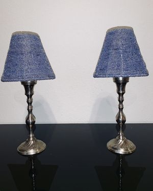 Matching Lamp Tealight Candle Holders for Sale in St. Louis, MO