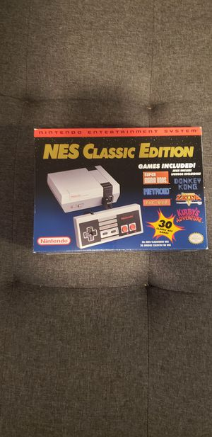 NES Nintendo Classic Mini edition with 2 wireless controllers for Sale in Martinez, CA