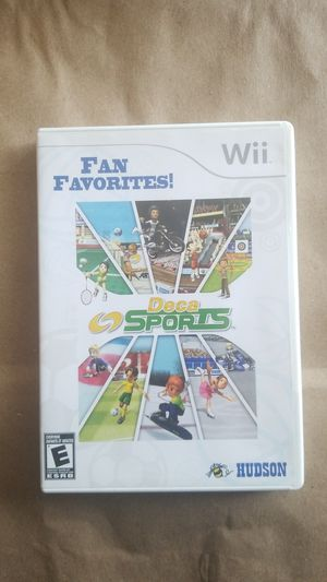 Fan Favorite Deca Sports, Wii for Sale in El Cajon, CA