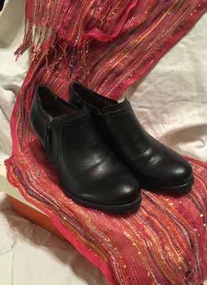 Low Cut Black Boots - Ladies 6M - Kasta for Sale in Smyrna, DE