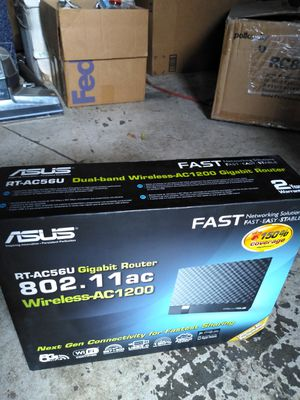 ASUS - RT-AC56u Gigabit Router / Dual Band for Sale in Stockton, CA
