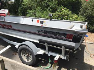 16'aluminum boat for Sale in Ringwood, NJ