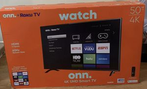 "Onn.Roku tv 50"" for Sale in Queens, NY"