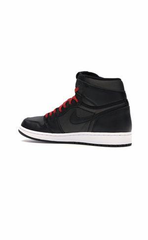 Jordan 1 Retro High Black Satin Gym Red Size 12 for Sale in Pleasant Grove, UT