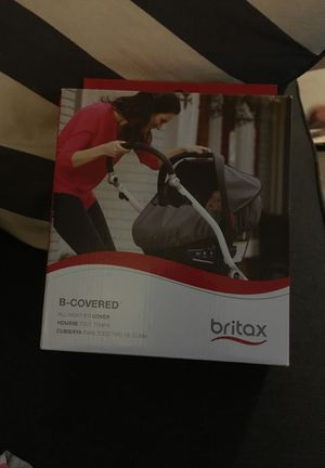 Britax B-Covered All-Weather Car Seat Cover in Grey for Sale in Austin, TX