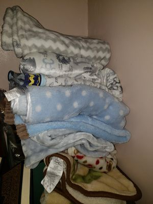 Baby blankets in perfect condition from pet and smoke free house only 3 $ each for Sale in New Britain, CT