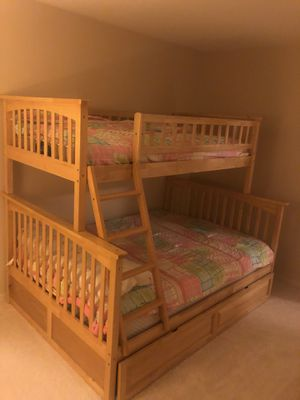 Top of the line bunk bed set with Mattresses! for Sale in Golden Oak, FL