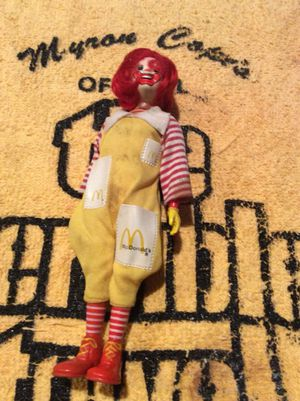 1976 Ronald McDonald figure for Sale in Pittsburgh, PA