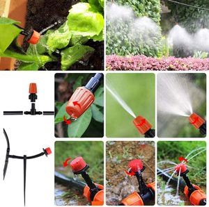 149PCS Irrigation Kit 100ft Micro Watering Systems Irrigation Greenhouse Sprinkler for Garden Humidification Lawn Outdoors Atomization Cooling for Sale in West Covina, CA