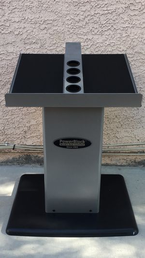 PowerBlock Large Column Dumbbell Stand for Sale in Las Vegas, NV