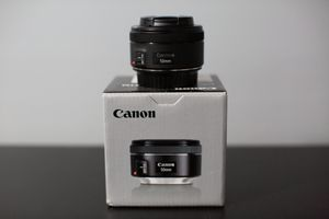 Canon 50mm f/1.8 STM Lens for Sale in Staten Island, NY