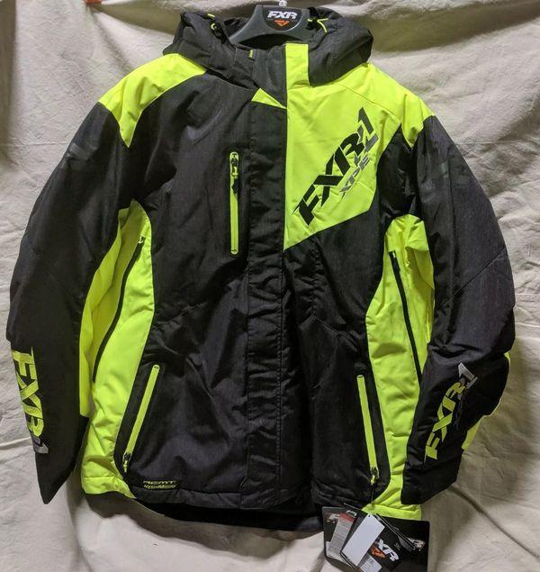New FXR snowmobile jacket 3xl
