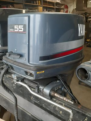 55hp Yamaha outboard motor late 80's for Sale in West Berlin, NJ