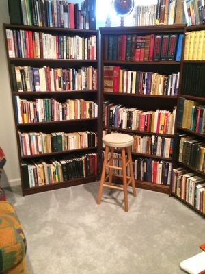 Three tall bookshelves for Sale in Country Lake Estates, NJ