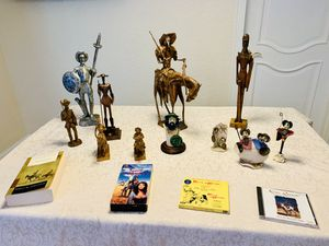 Don Quixote & Sancho Panchez Vintage collection of Figurines. Will sell as complete set $250 or Any offer accepted! for Sale in Miami, FL