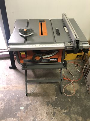 Ridgid 10in Table Saw for Sale in Stanton, CA