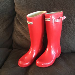 Hunter Rain Boots Red for Sale in Huntington Beach, CA