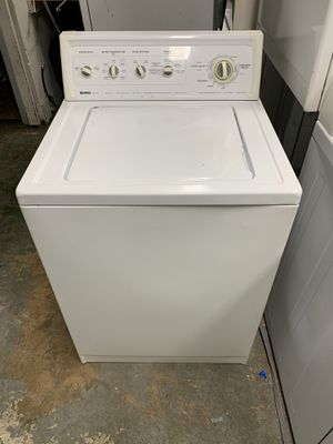 Washer kenmore / 90 days warranty / free delivery/ works perfectly/ lavadora whirlpool for Sale in West Palm Beach, FL
