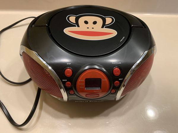 Stereo Boombox Paul Frank with DVD player
