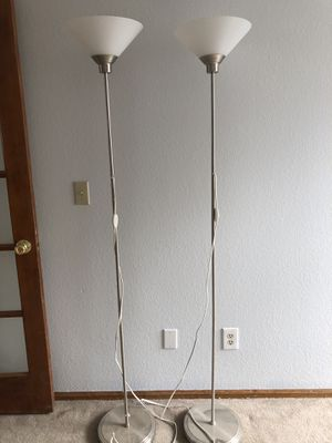Two Stand Up Floor Lights for Sale in Littleton, CO