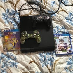 PS4 FOR SALE FOR $230 2K21 LEGEND EDITION, 2 CONTROLLERS, AND MADDEN 21 CANT BEAT IT🤷♂️ for Sale in Country Club Hills,  IL