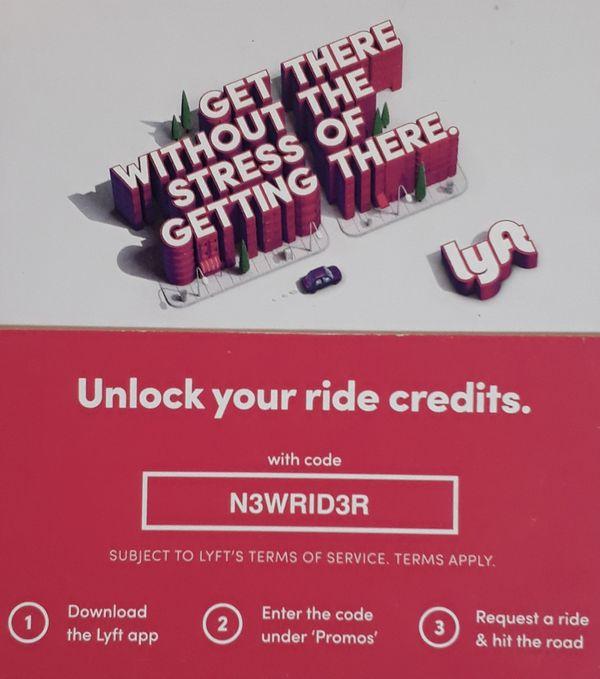 Coupon - $5 Free Ride Credits!