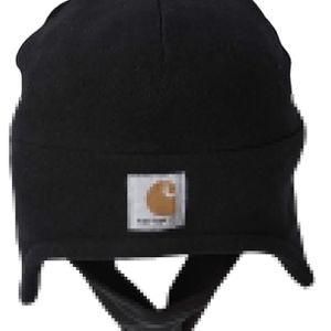 Carhartt Unisex fleece 2-in-1 Headwear one size Hat with mask included Available in black and gray for Sale in Springfield, VA
