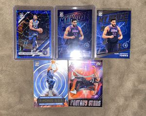 Karl Anthony Towns Optic Lot of 5 for Sale in Santa Ana, CA