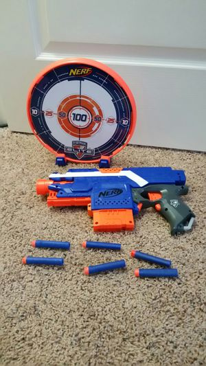 Nerf gun and target for Sale in Wilder, KY