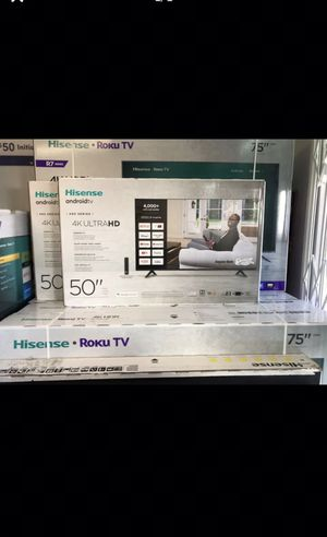 50 INCH HISENSE ANDROID 4K ULTRA SMART TV 📺 for Sale in Chino Hills, CA