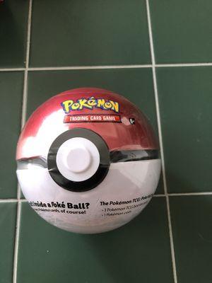 $15 Pokémon - Poké Ball Tin (Factory Sealed) Pokemon Poke Ball TIN RED for Sale in Las Vegas, NV