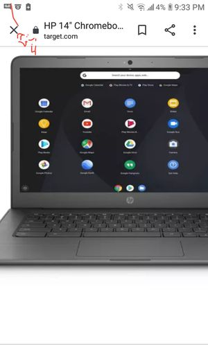 Hp chrome notebook for Sale in West Columbia, SC