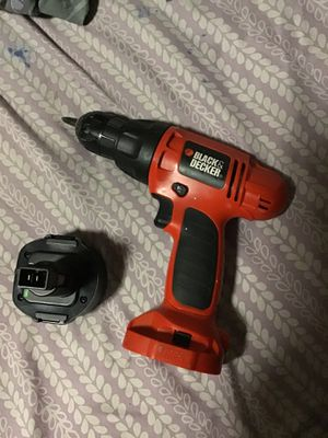 Black & Decker Battery 0perated Drill. for Sale in Fort Worth, TX