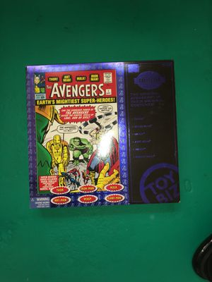 The Avengers Toy Biz collection box for Sale in Columbus, OH