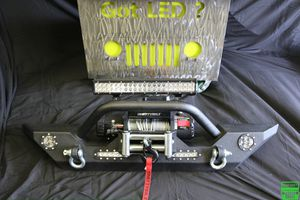 New Bumper and Smittybilt winch & LED's JeeP for Sale in Scottsdale, AZ
