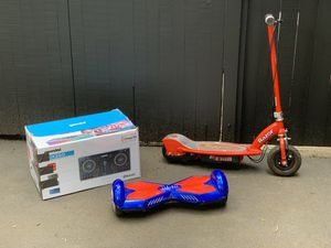 Hoverboard, Electric Scooter, DJ Table for Sale in Seattle, WA